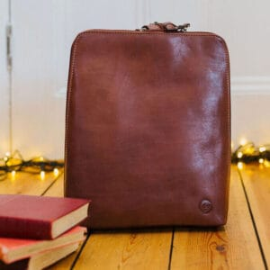 Tan Leather Backpack UK