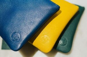 soft leather clutch bags