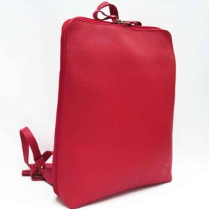 red city leather backpack